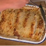 Gregg and Anne-Marie Wallace baked crepes with spinach and ham recipe on This Morning