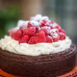 John Torode chocolate buttermilk cake recipe on John and Lisa's Weekend Kitchen