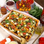 Phil Vickery Mediterranean vegetable tart recipe on This Morning
