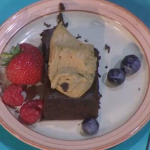 Simon Rimmer Chocolate and Mayonnaise cake recipe on Sunday Brunch