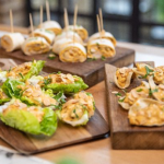 Lisa Faulkner Coronation chicken salad starters recipe on John and Lisa's Weekend Kitchen