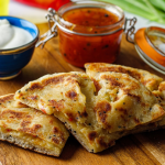 Simon Rimmer Chilli Cheese Filled Flatbread recipe on Sunday Brunch