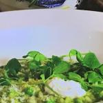 Ulrika's pea and ricotta risotto recipe on Lorraine