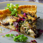 Simon Rimmer Garlic And Mushroom Quiche recipe on Sunday Brunch