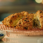 Nadiya Hussain fruity soda bread with homemade butter recipe on Nadiya's Time to Eat
