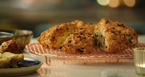 Nadiya Hussain Fruity Soda Bread With Homemade Butter Recipe On Nadiya S Time To Eat The Talent Zone