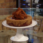 Paul A Young vegan chocolate brownie torte with Madagascan chocolate ganache recipe on Saturday Kitchen