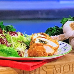 Clodagh's bank holiday chicken kiev recipe on This Morning