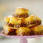 Nadiya Hussain sticky golden syrup baklava recipe on Nadiya's Time to Eat