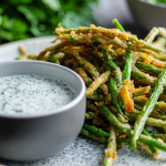 Simon Rimmer Crunchy Green Beans with Ranch Dressing recipe on Sunday Brunch