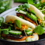 Simon Rimmer Spiced Peanut and Smoked Tofu Buns recipe on Sunday Brunch