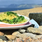 John Torode crab linguine pasta recipe on This Morning