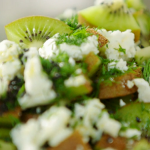 Nadiya Hussain kiwi and feta salad recipe on Nadiya's Summer Feasts
