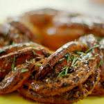 Nadiya Hussain olive and rosemary crown bread recipe on Nadiya's Summer Feasts