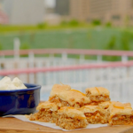 Si and Dave's cinnamon and walnut baklava with orange syrup recipe on Hairy Bikers: Route 66
