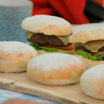 Paul Hollywood burger baps recipe on The Great British bake off 2019