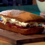 Simon Rimmer Madeira Cake with German Buttercream recipe on Sunday Brunch
