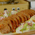 Si and Dave's Meatloaf with wedge salad recipe on Hairy Bikers: Route 66