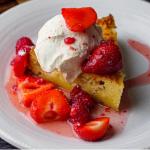 Simon Rimmer Apple and Honey Polenta Cake recipe on Sunday Brunch