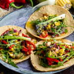Simon Rimmer Charred Sweetcorn and Cumin Tacos recipe on Sunday Brunch
