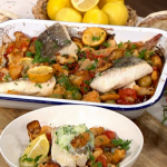 John Torode tray-baked haddock recipe on This Morning