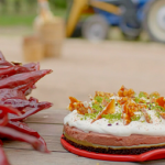 Hairy Bikers chilli and chocolate mousse pie with chilli praline shards recipe on Route 66