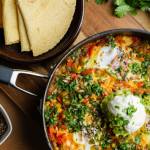 Simon Rimmer Huevos Rancheros (spicy eggs with avocado) recipe on Sunday Brunch
