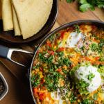 Simon Rimmer Huevos Rancheros (spicy eggs with avocado) recipe on Sunday Brunch