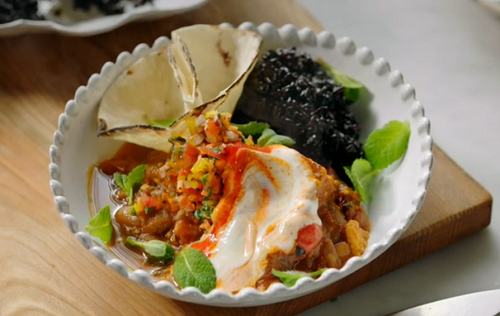 Jamie S Veggie Chilli With Sweet Potatoes And Black Rice Recipe Meat Free Meals The Talent Zone