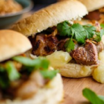 Jack Stein Thai Pork Buns and Apple Sauce recipe on Sunday Brunch