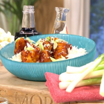 Rachel Ama sticky crispy cauliflower recipe on This Morning