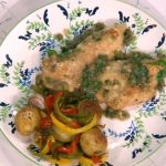 Gino's meal in minutes! chicken in lemon and caper sauce recipe on This Morning