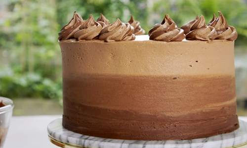 Juliet S Ultimate Chocolate Fudge Cake Recipe On Beautiful Baking With Juliet Sear The Talent Zone