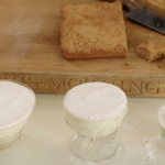 Phil Vickery clotted cream and lemon curd mousse with cookies recipe on This Morning