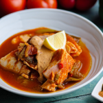 Simon Rimmer spiced fish and pepper stew recipe on Sunday Brunch