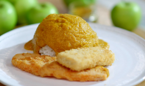 Lisa Faulkner Vegetarian Katsu Curry With Tofu And Sweet