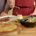John Torode Minute Steak with Rostis and Broccoli Gratin recipe on John and Lisa's Weekend Kitchen