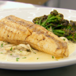 Marcus Wareing monkfish with broccoli and vermouth cream sauce recipe on MasterChef The Professionals
