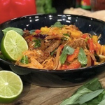 John Gregory-Smith's tasty Thai noodles with beef recipe on This Morning