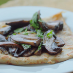 Rick Stein ( French bourriols) buckwheat pancakes with mushrooms and egg recipe on Rick Stein's Secret France