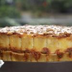 Juliet's pasta pie recipe on Beautiful Baking with Juliet Sear
