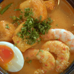 Mandy Yin Malaysian prawn laksa recipe on Nadia's Family Feasts