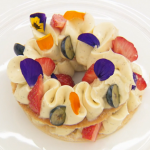 Monica Galetti layered puff pastry dessert with berries and vanilla mousseline recipe on Masterchef The Professionals