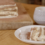 Nadia Sawalha tiramisu with kahlua coffee liqueur recipe on Nadia's Family Feasts