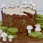 Juliet Sear winter woodland mushroom cake recipe on Beautiful Baking with Juliet Sear