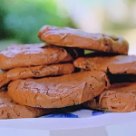 Juliet Sear spiced chocolate brownie cookies recipe on Beautiful Baking with Juliet Sear