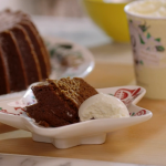 John Torode ginger cake with black treacle recipe on John and Lisa's Weekend Kitchen