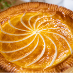 Lisa Faulkner leek with squash and blue cheese pithivier recipe on John and Lisa's Weekend Kitchen