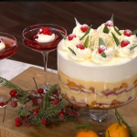 Phil Vickery retro desserts with champagne jelly and sherry trifle recipe on This Morning