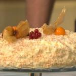 Simon Rimmer Toasted Coconut Cake recipe on Sunday Brunch